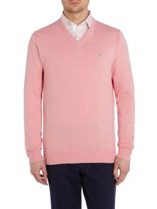 Magee Plain V Neck Pull Over Jumper