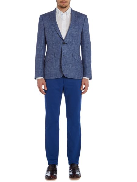 Magee Straight Leg Tailored Trousers