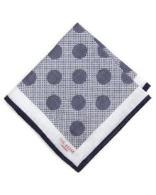 Blobby Patterned Pocket Square