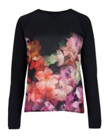 Lanie cascading floral sweater