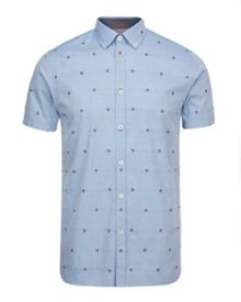 Thevibe Floral Button Down Shirt