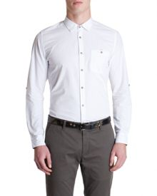 Midnito Plain Classic Fit Long Sleeve Shirt