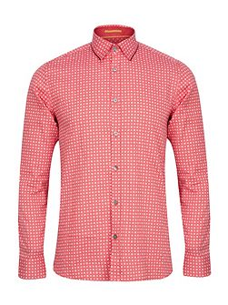 Men's Ted Baker Rumple Print Long Sleeve Shirt
