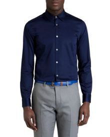 Gudplyn Reversible Cuff  Plain Shirt