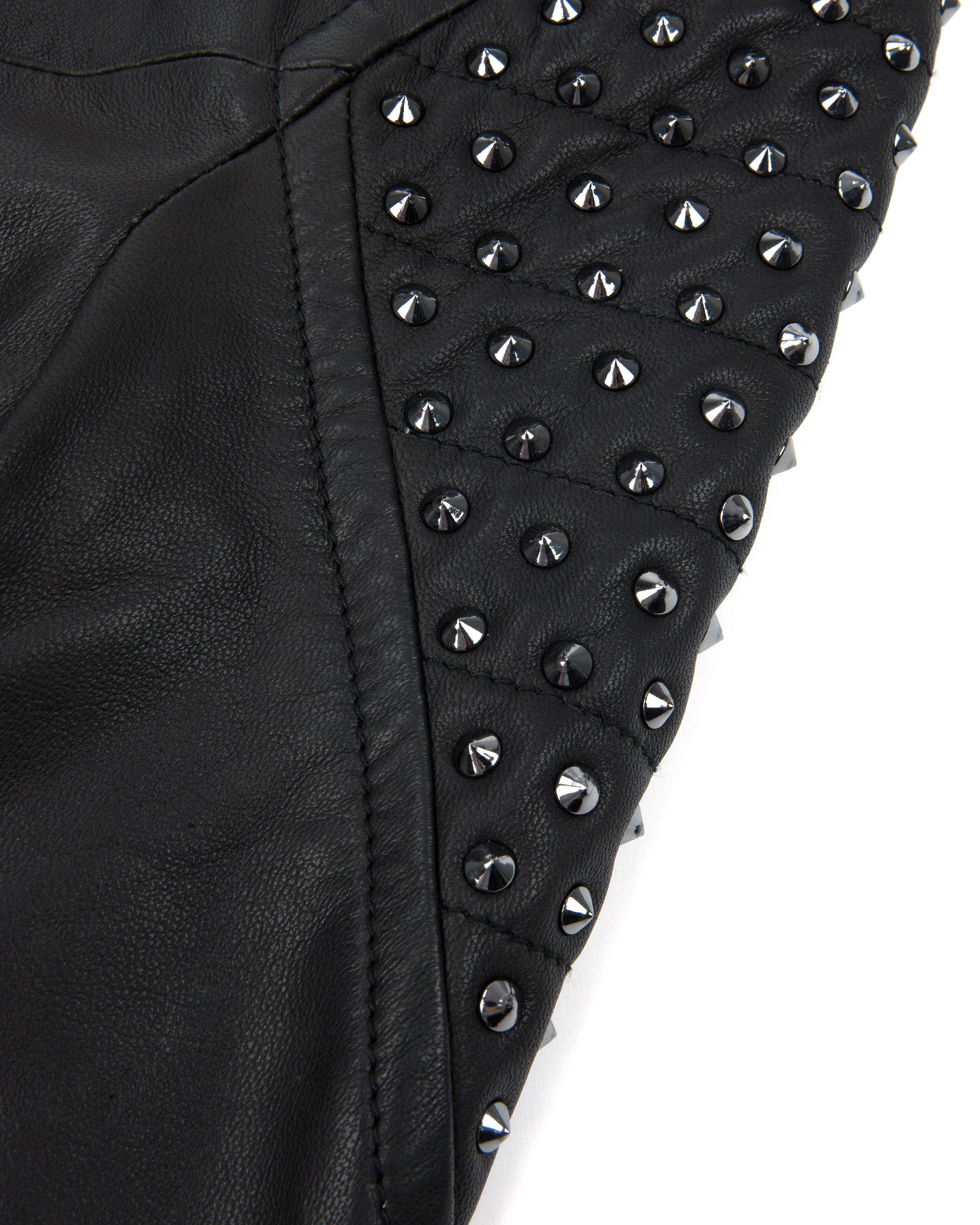 Ketton embellished leather jacket