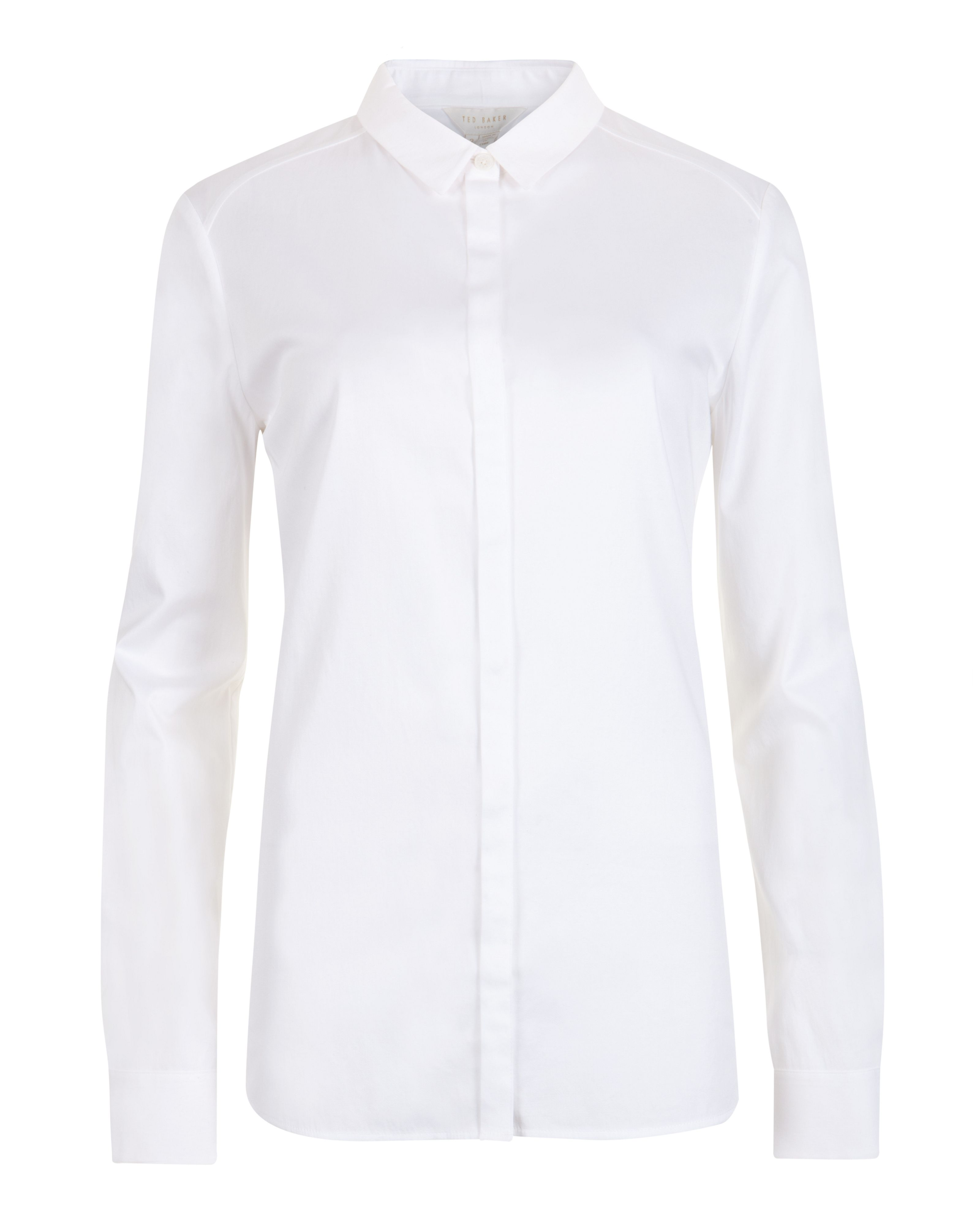 Hadija fitted raglan sleeve shirt