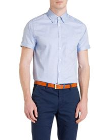 Donot Plain Short Sleeve Shirt