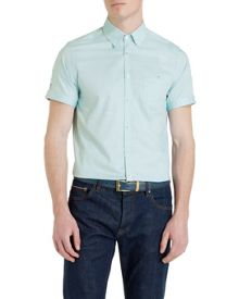 Ted Baker Donot Plain Short Sleeve Shirt