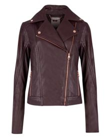 Riza leather jacket