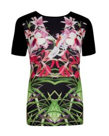 Renella Mirrored Tropics T-shirt