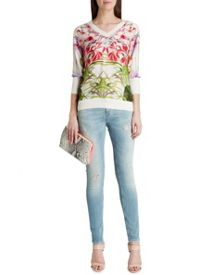 Gotia mirrored tropics jumper