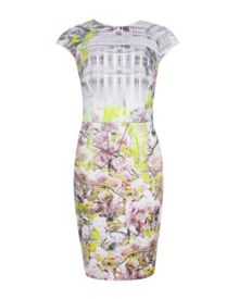 Pancha Window blossom pencil dress