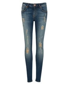 Brixham Distressed skinny jeans