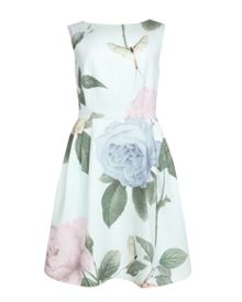 Eleta distinguishing rose dress