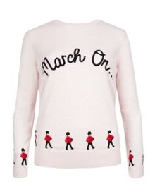 Cookley march on illustrated knit