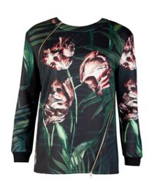 Errin Palm floral sweater