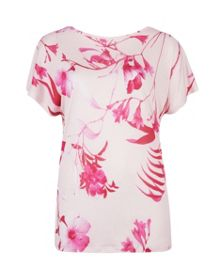 Bafal Botanical Bloom printed top