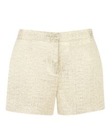 Filicsh metallic suit shorts