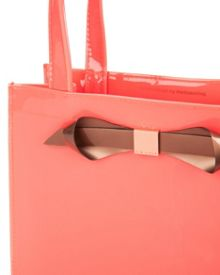 Raycon small patent bow shopper