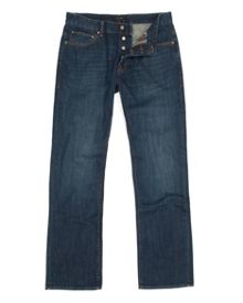 Brentry Dark Wash Mid Rise Jeans