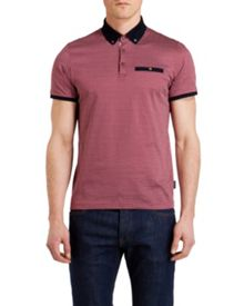 Karmex Polka Dot Regular Fit Polo Shirt