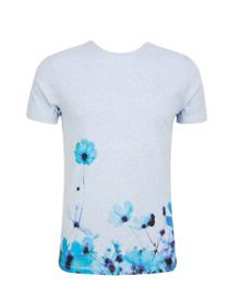 Duston Print Crew Neck T-Shirt