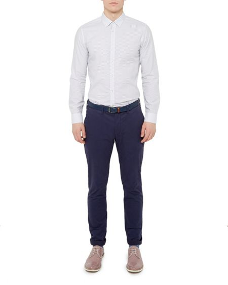 Ted Baker Sorcor Slim Fit Cotton Chinos
