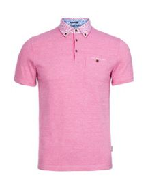 Skylaar Print Regular Fit Polo Shirt