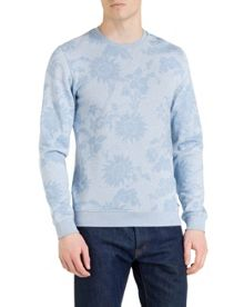 Ridlee Floral Crew Neck Pull Over Overhead