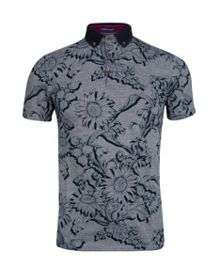 Athias Floral Polo Regular Fit Polo Shirt
