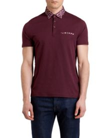 Sydnar Print Regular Fit Polo Shirt