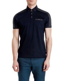 Kowala Two-Tone Plain Regular Fit Polo Shirt
