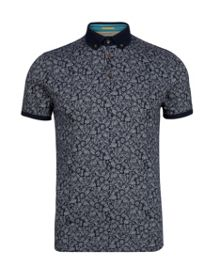 Spyda Print Regular Fit Polo Shirt