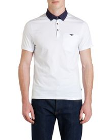 Print Polo Regular Fit Polo Shirt