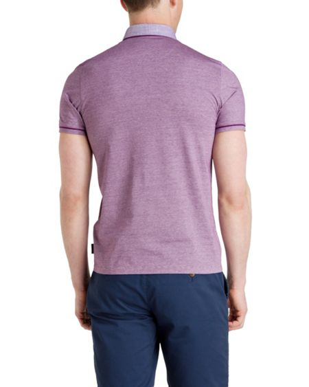 Ted Baker Trybe Plain Polo Regular Fit Polo Shirt