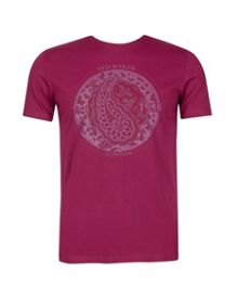 Tarbert graphic print t-shirt