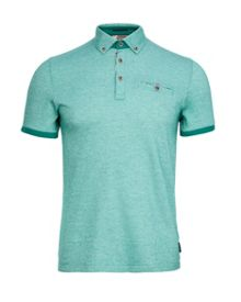 Casanov Plain Regular Fit Polo Shirt