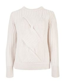 Alano twist cable knit jumper