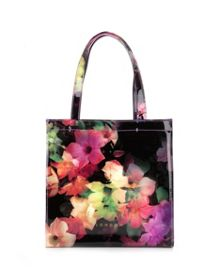 Cadecon small cascading floral shopper