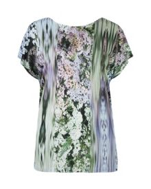 Apila Glitch floral printed top