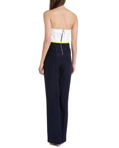 Ted Baker Kailasa strapless jumpsuit