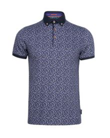Flowbo Floral Regular Fit Polo Shirt