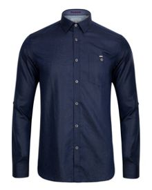 Farewel Print Long Sleeve Shirt
