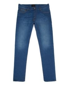 Tectrix Light Wash Mid Rise Jeans