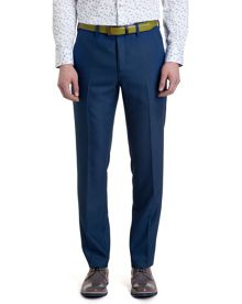 Satro Patterned Straight Leg Tailored Trousers