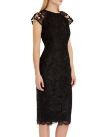 Raenna Lace fitted dress