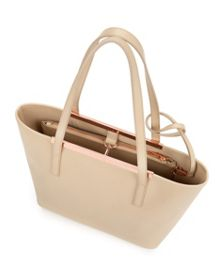 Hailey Small crosshatch shopper