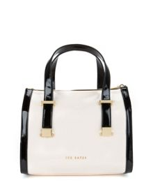 Dacia Zipped bowler bag