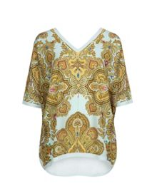 Ivone Jewel paisley T-shirt