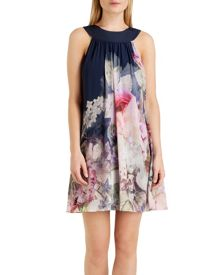 Marindi Pure peony swing dress